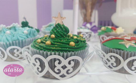 Cup cakes navideños - www.atarta.com